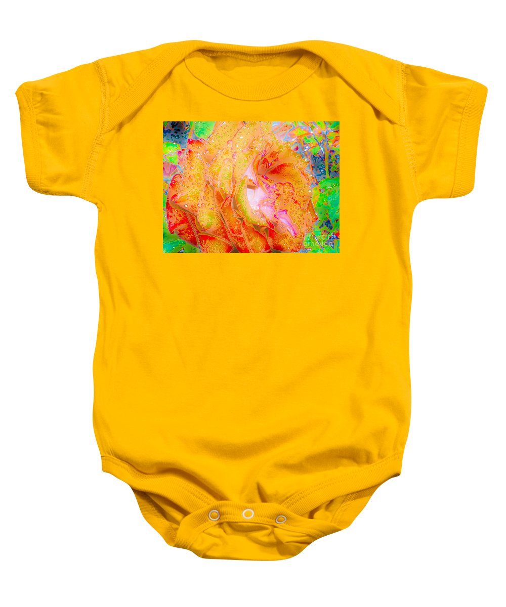 A1photo Baby Onesie featuring the photograph Altered States 90441 by Michael Wayman