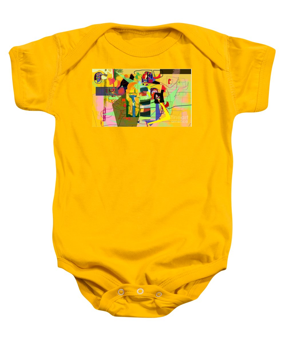 Tsheuvah Baby Onesie featuring the digital art come to know the ways of Hashem by David Baruch Wolk