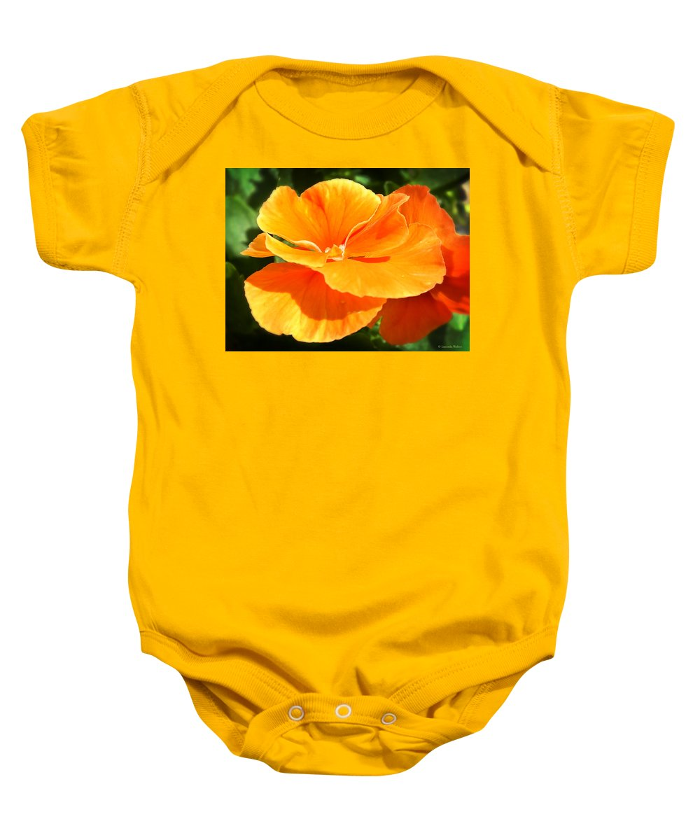 Arboretum Baby Onesie featuring the photograph Flying Saucer by Lucinda Walter