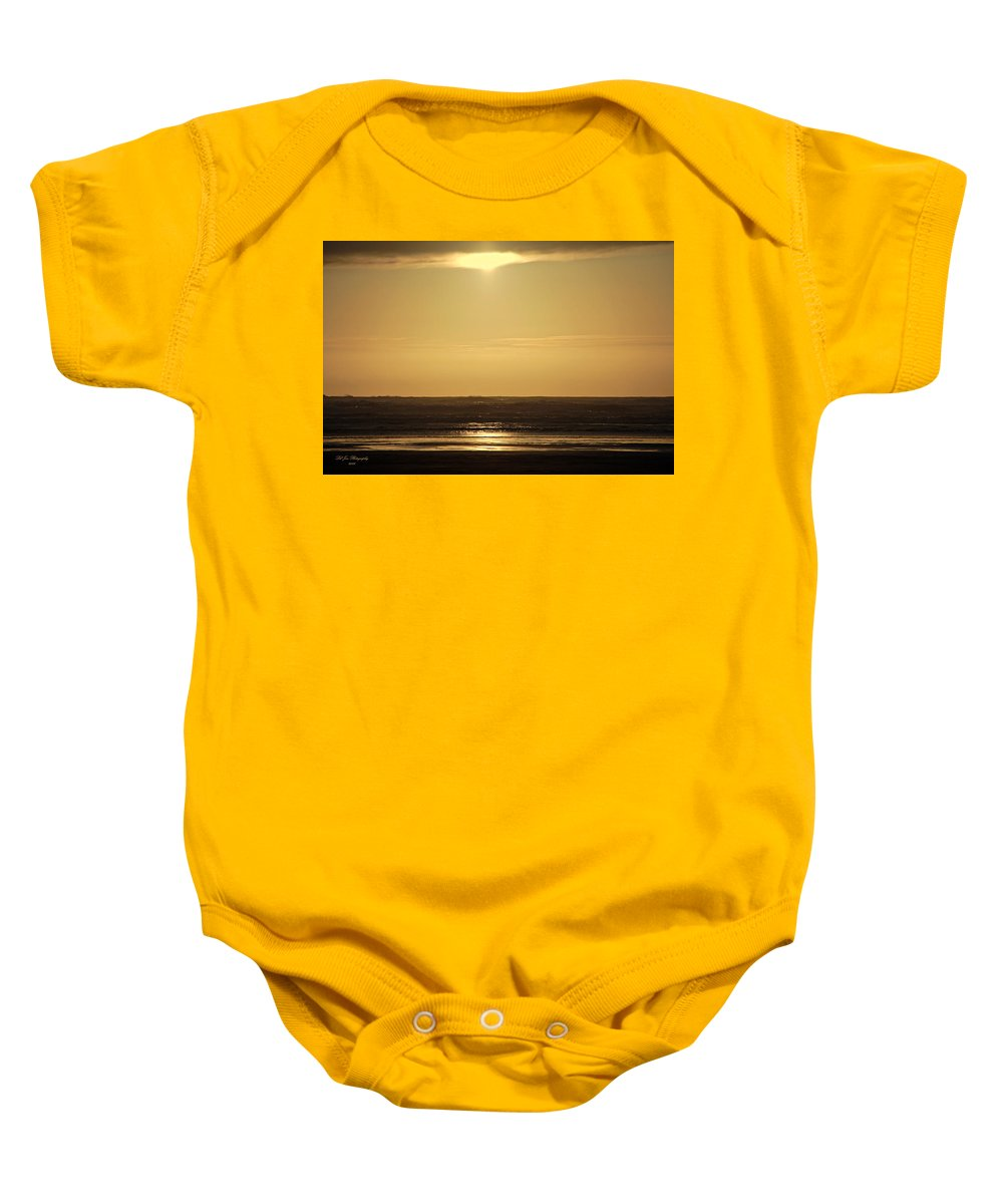 Ocean Baby Onesie featuring the photograph Forever by Jeanette C Landstrom