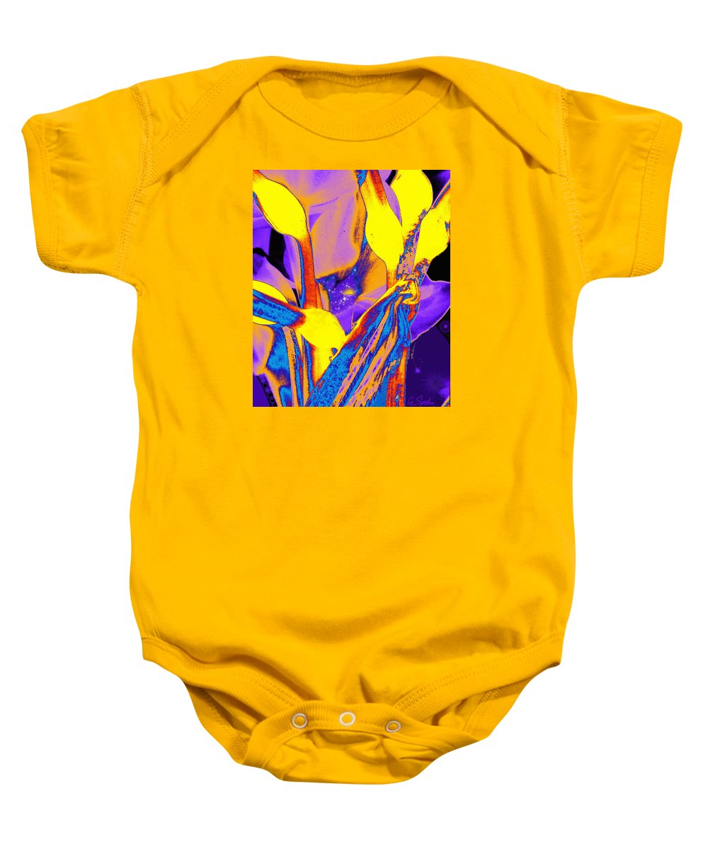Photo Baby Onesie featuring the photograph From A Galaxy Far Far Away by Cliff Spohn