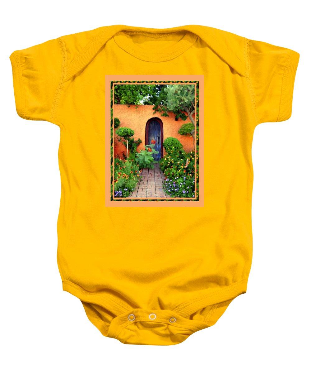 Garden Baby Onesie featuring the photograph Garden Delights Mesilla by Kurt Van Wagner