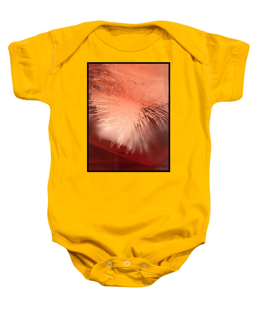 Ice Baby Onesie featuring the photograph Iced Cherry Juice by Tim Nyberg