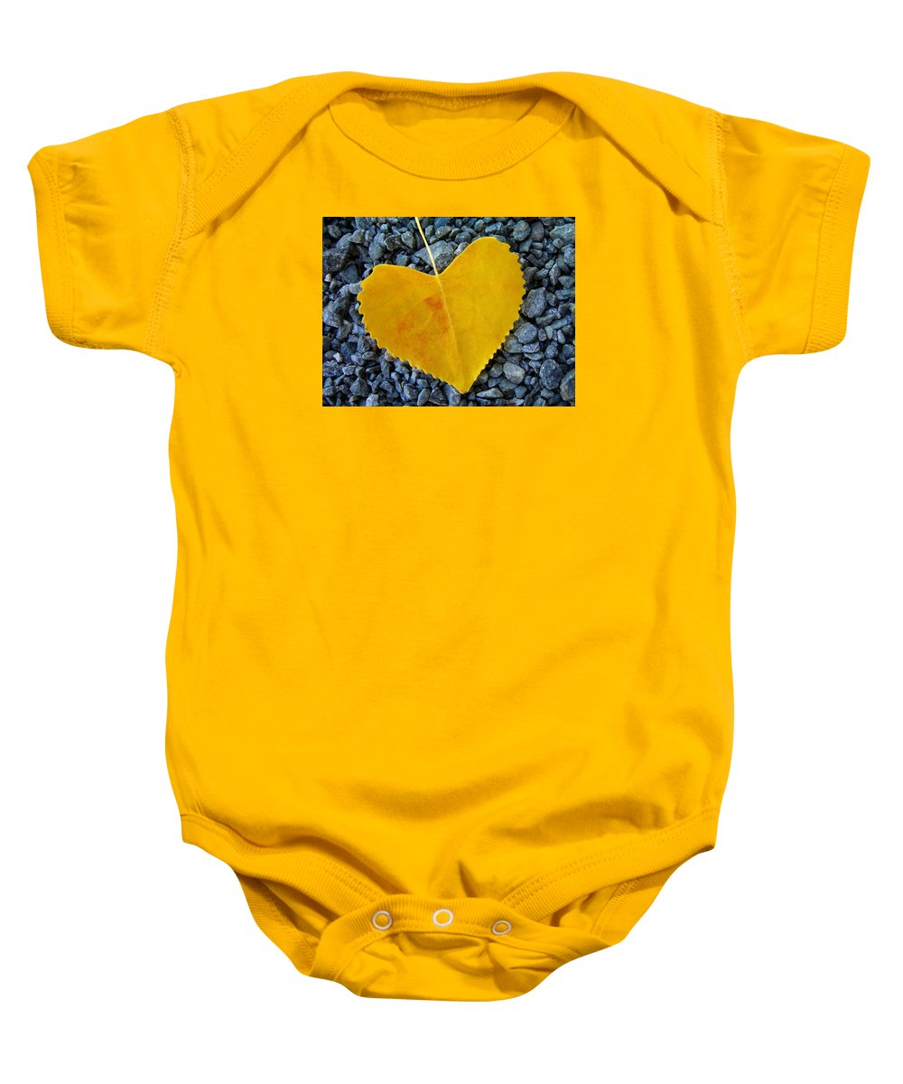 Love Baby Onesie featuring the photograph In Love ... by Juergen Weiss