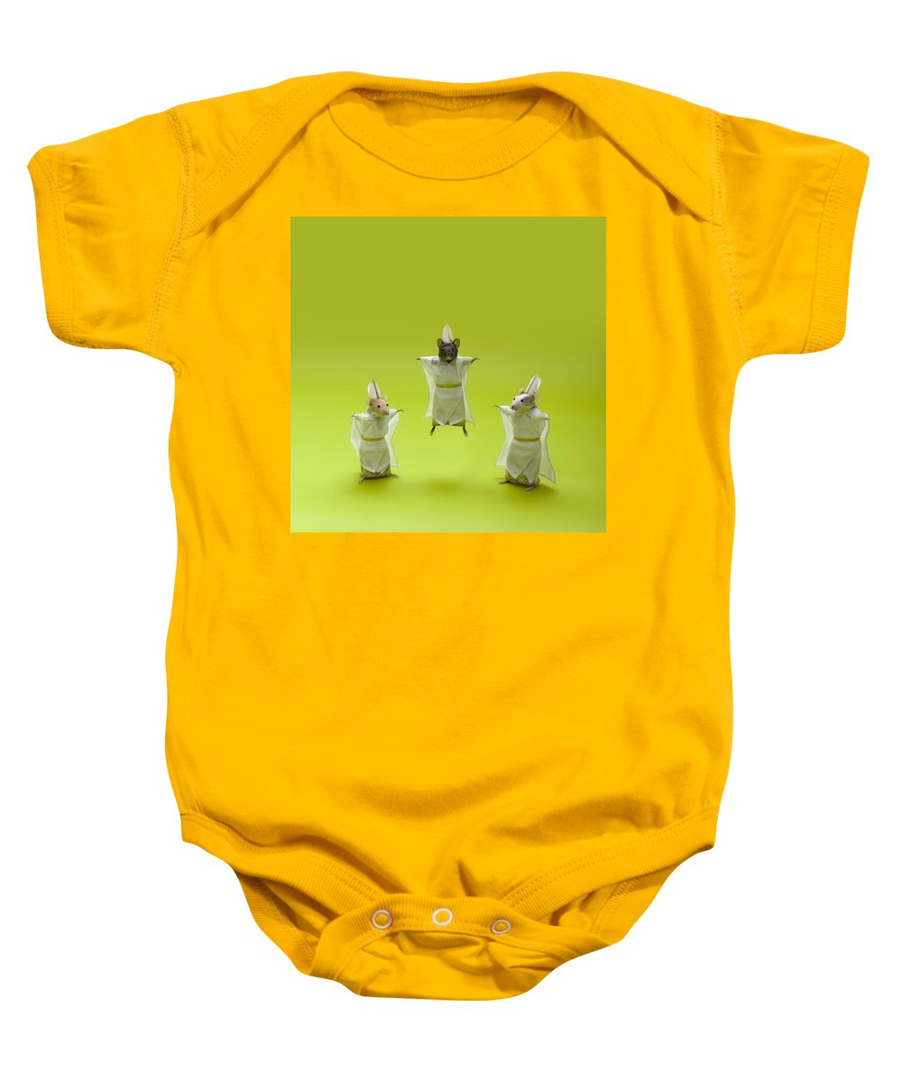 Paranormal Baby Onesie featuring the photograph Lookin Fly by Daniel Furon