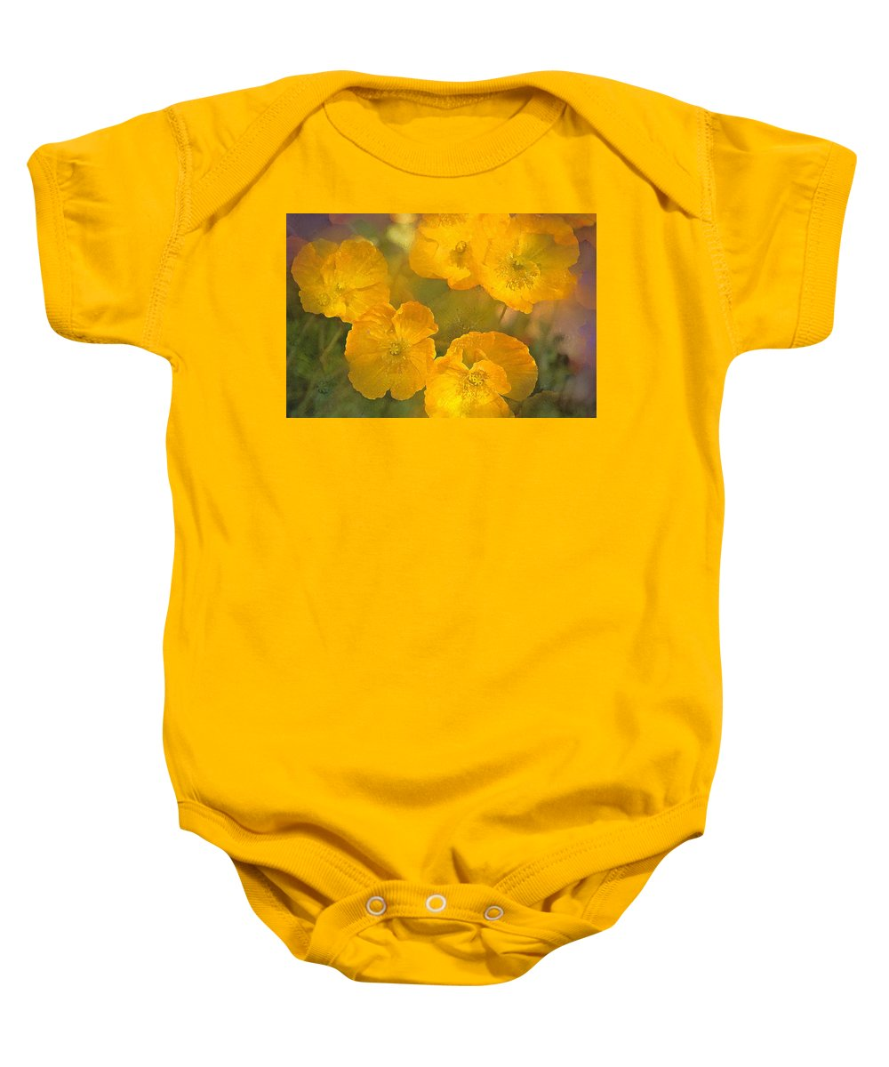 Floral Baby Onesie featuring the photograph Poppy 29 by Pamela Cooper