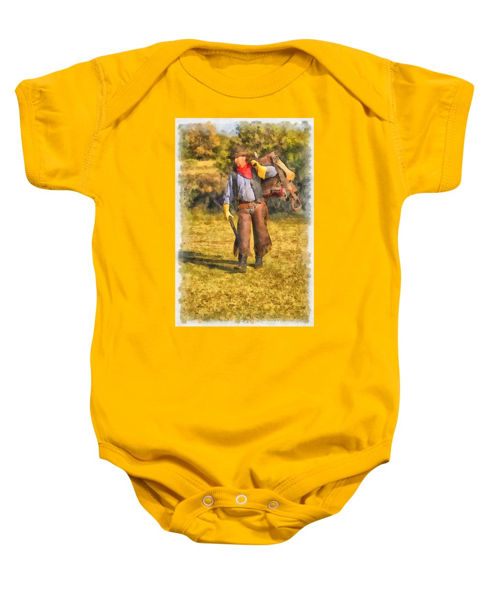 American Baby Onesie featuring the photograph Preparation by Jack Milchanowski