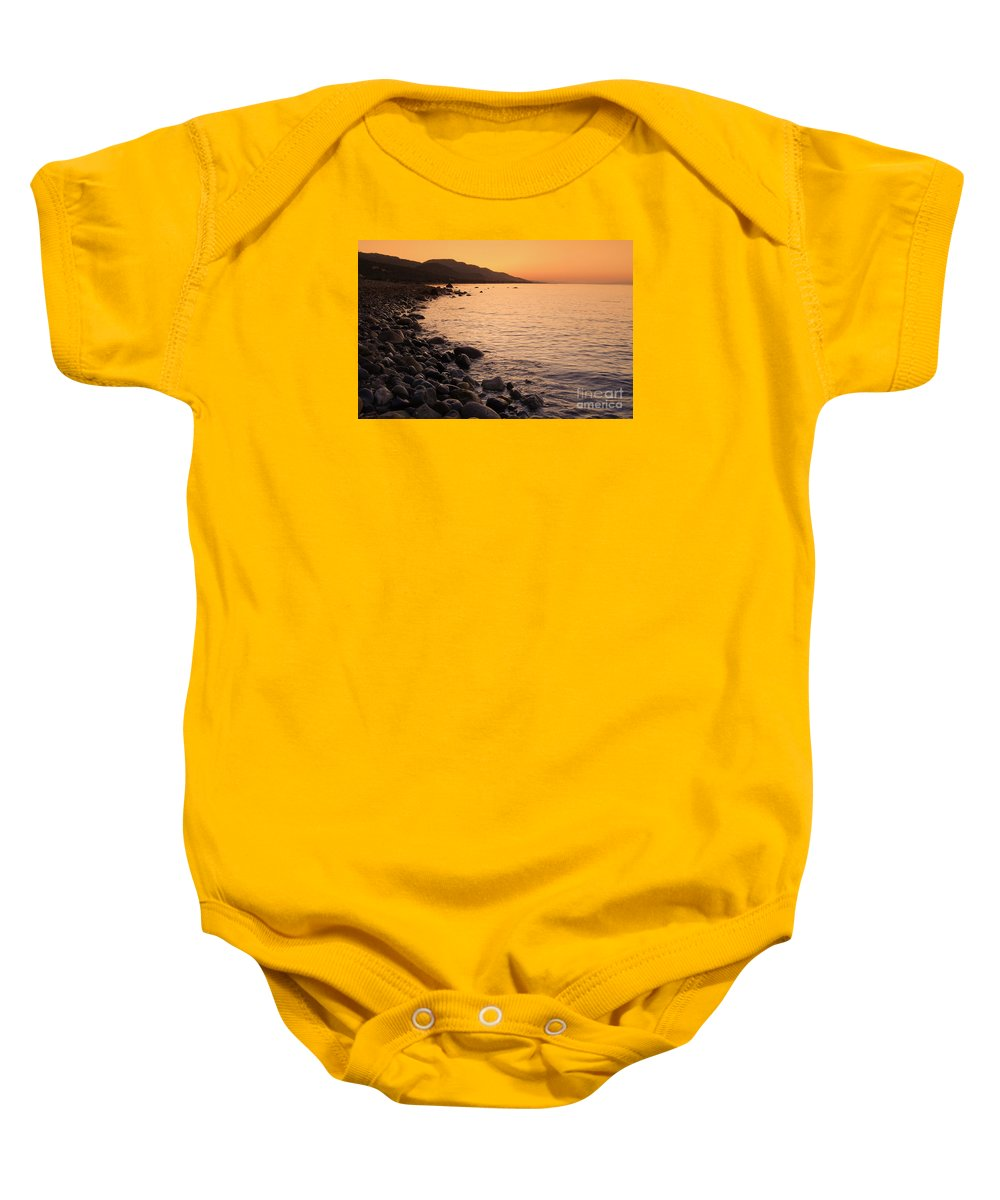 Canakkale Baby Onesie featuring the photograph Sleepy Morning by Leyla Ismet