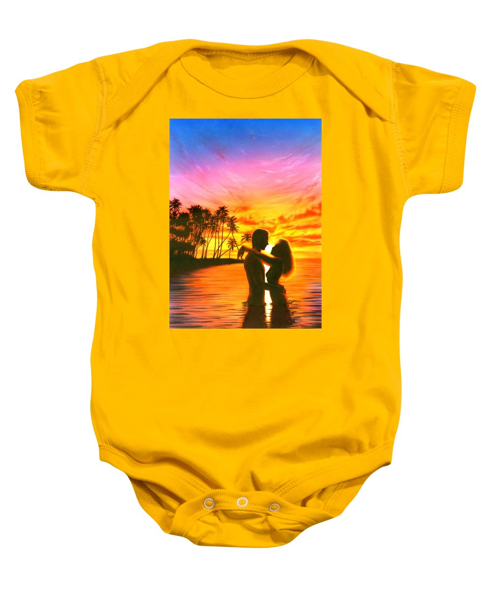 Adult Baby Onesie featuring the photograph Sun Lovers Sun Worshippers by Andrew Farley