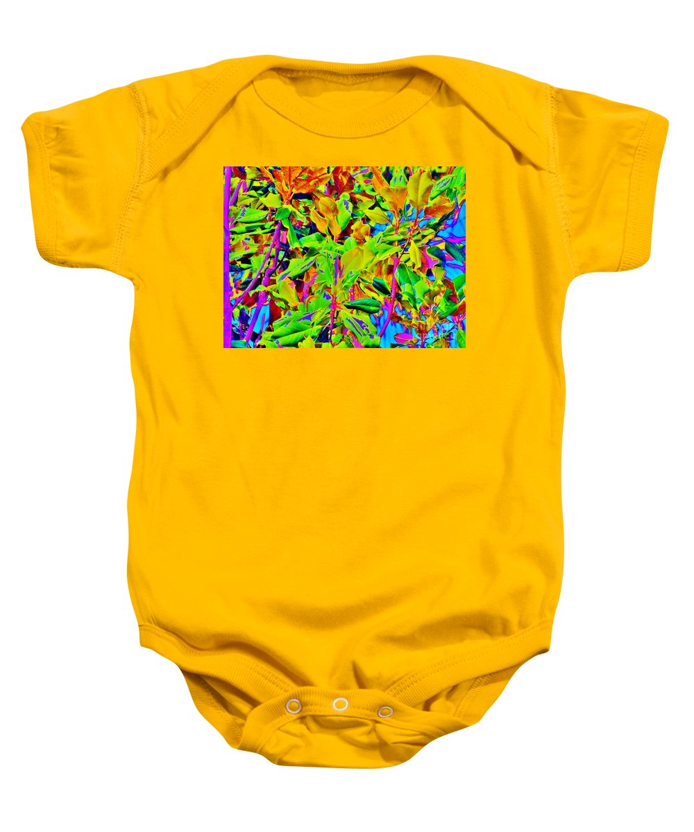 Kerisart Baby Onesie featuring the photograph Sweet Magnolia by Keri West