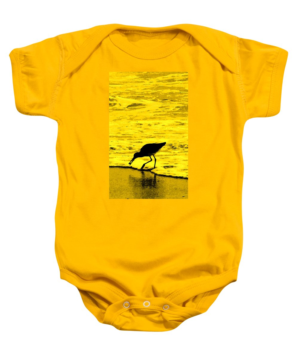 Florida Baby Onesie featuring the photograph This Beach Belongs To Me by Ian MacDonald