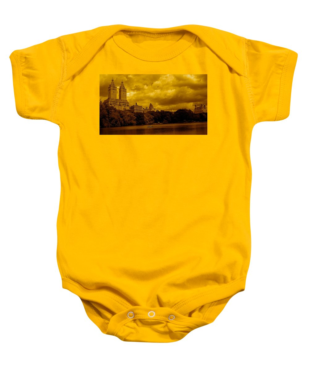 Iphone Cover Cases Baby Onesie featuring the photograph Upper West Side And Central Park by Monique's Fine Art