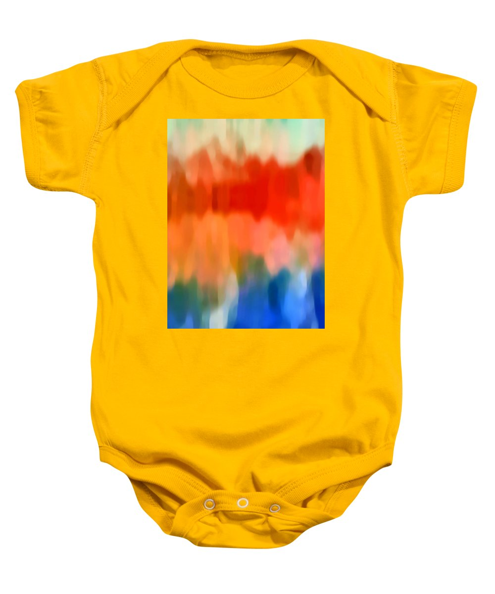Watercolor Baby Onesie featuring the painting Watercolor 5 by Amy Vangsgard
