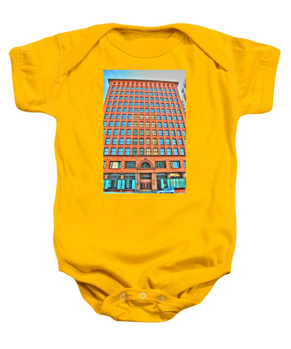 Baby Onesie featuring the photograph Reflections And Shadows by Michael Frank Jr