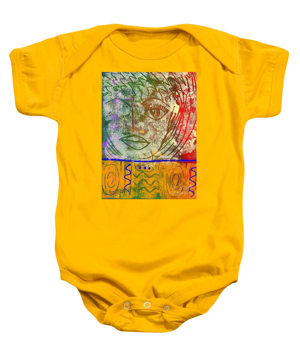Woman Baby Onesie featuring the painting Art  Always Remember Truth by Angela L Walker