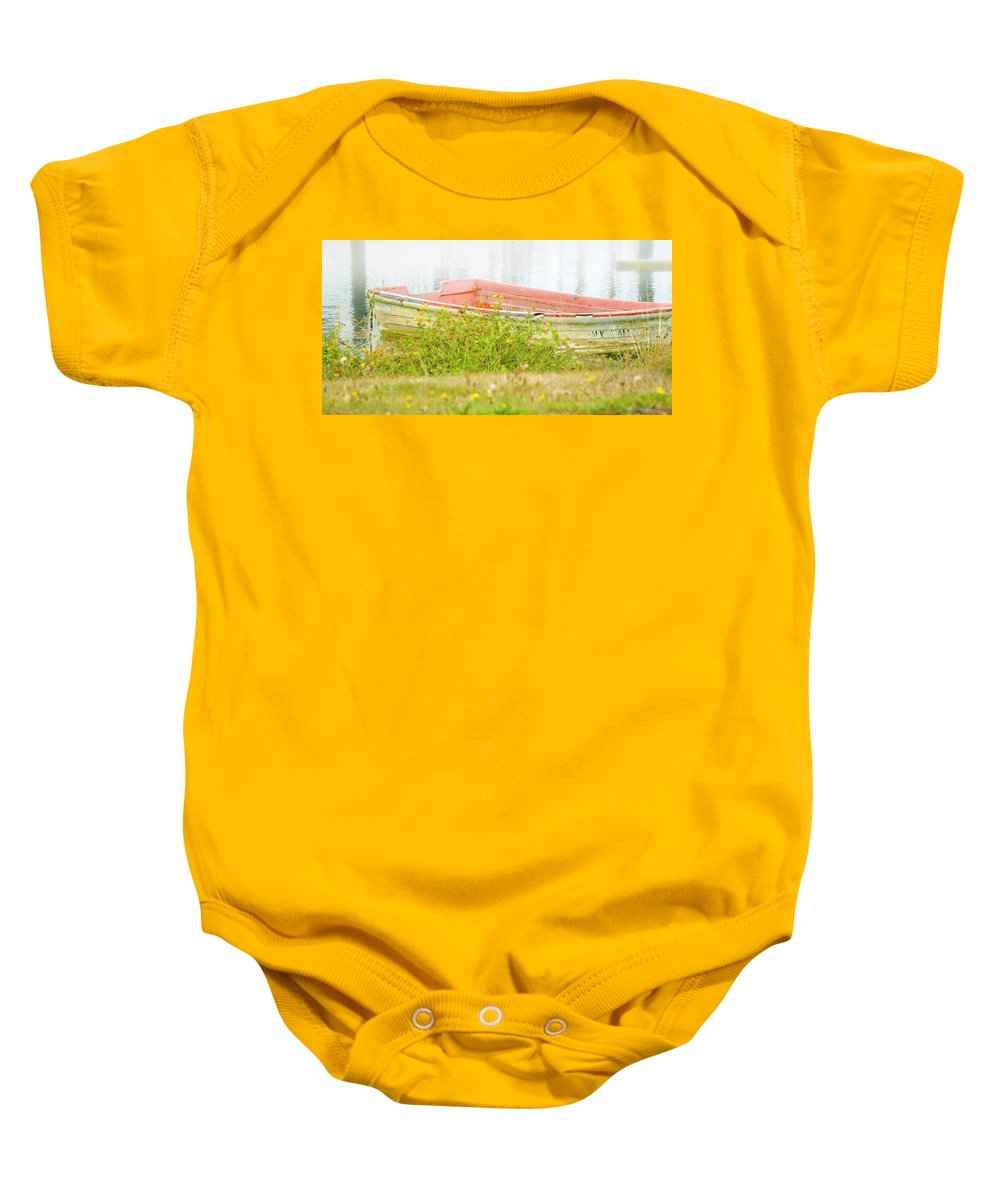 Washington Coast Baby Onesie featuring the photograph Brief Respite by Albert Seger