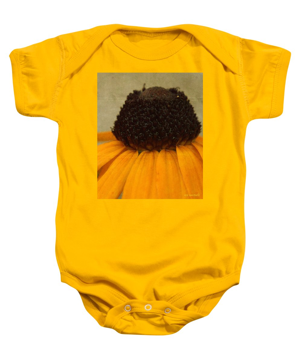 Burr Berry Baby Onesie featuring the photograph Burr Berry by Ed Smith