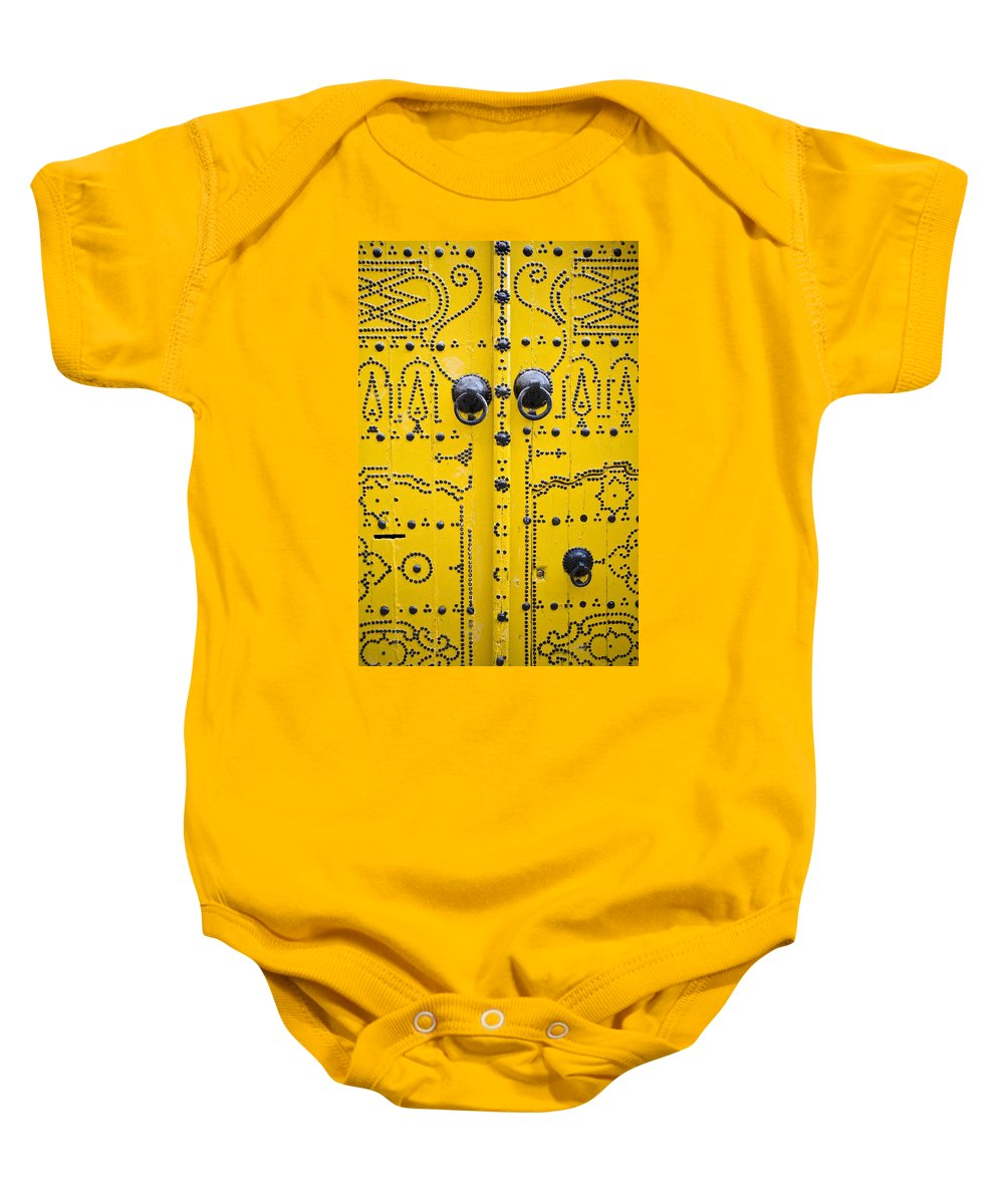 African Baby Onesie featuring the photograph Detailed Architecture, Tunis, Tunisia by David DuChemin