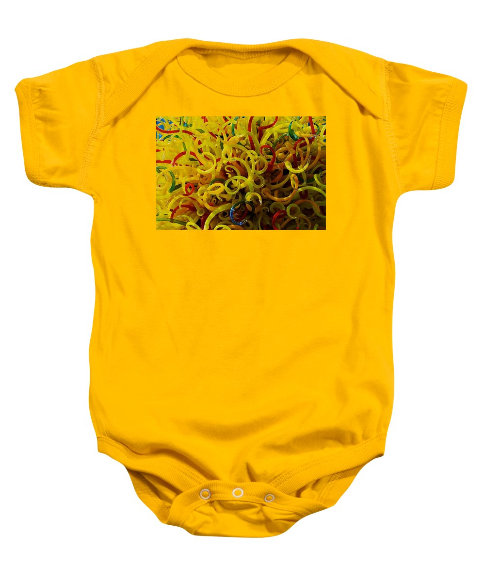 Dale Seattle Baby Onesie featuring the photograph Extraordinary Chihuly Glass by Eric Tressler
