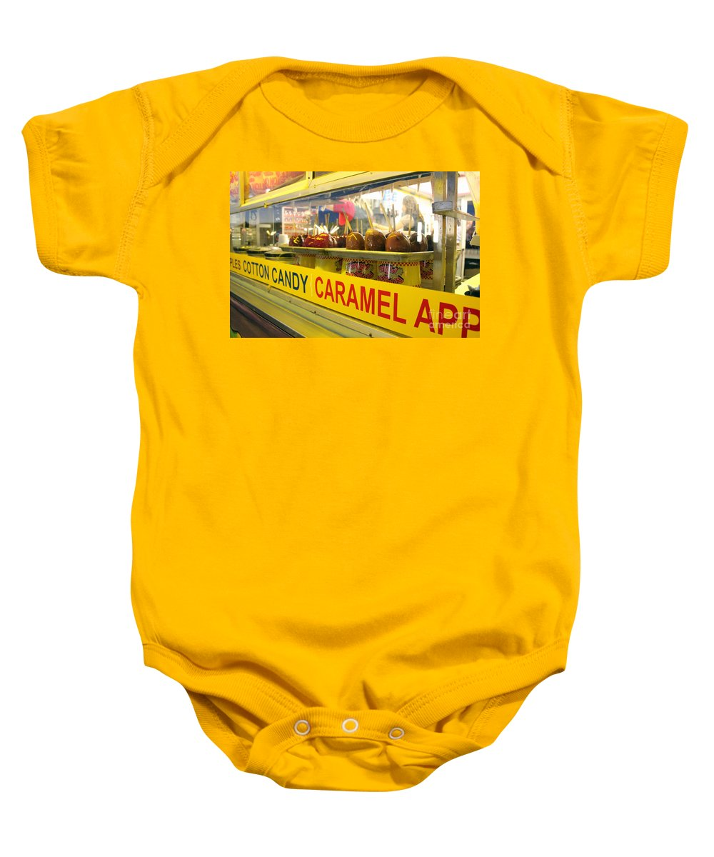 Carnival Baby Onesie featuring the photograph Fair Fare by Alycia Christine
