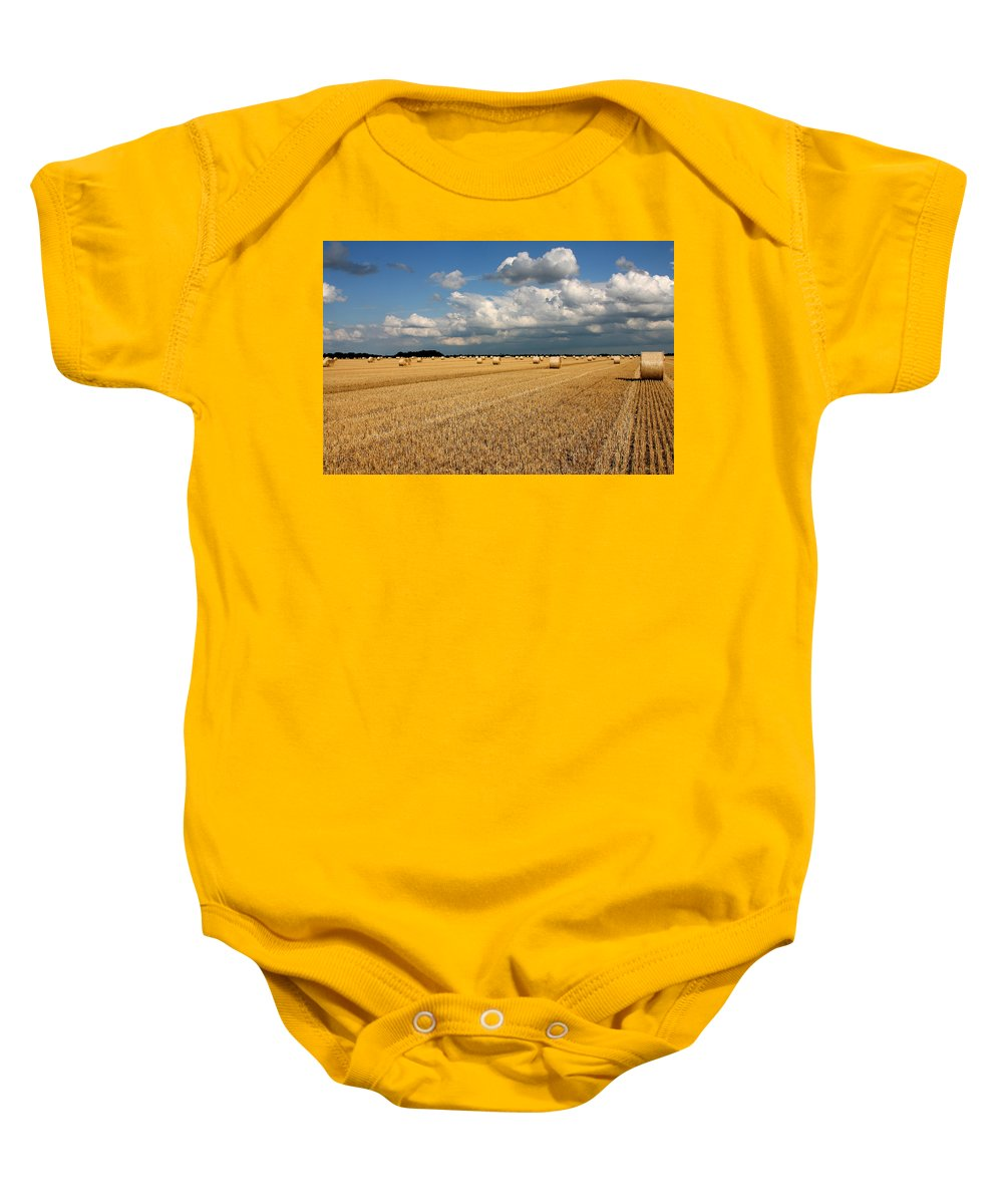 Harvest Baby Onesie featuring the photograph Harvest by Ralf Kaiser