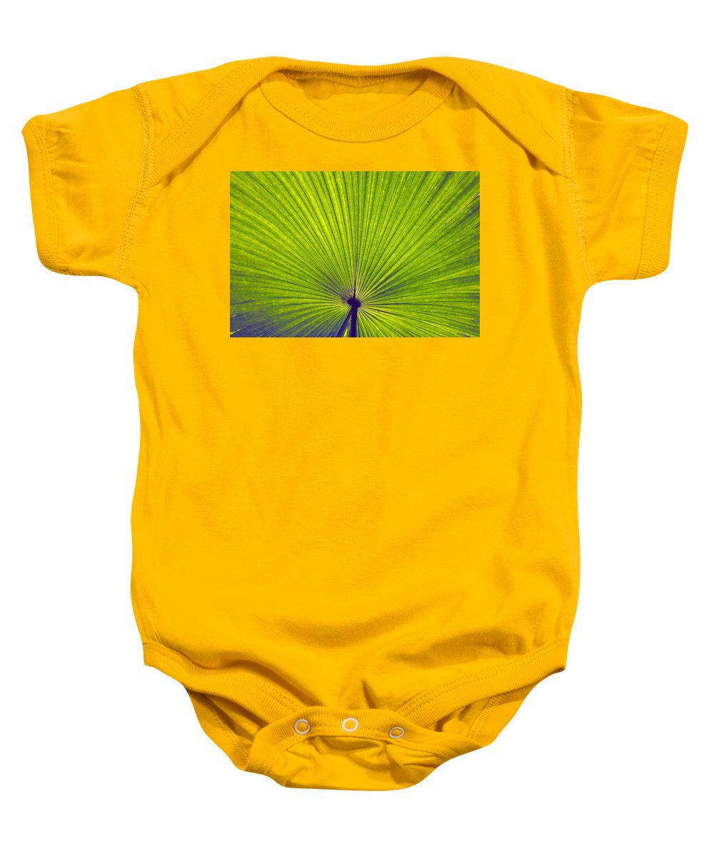 Leaf Baby Onesie featuring the photograph Leaf by Sumit Mehndiratta