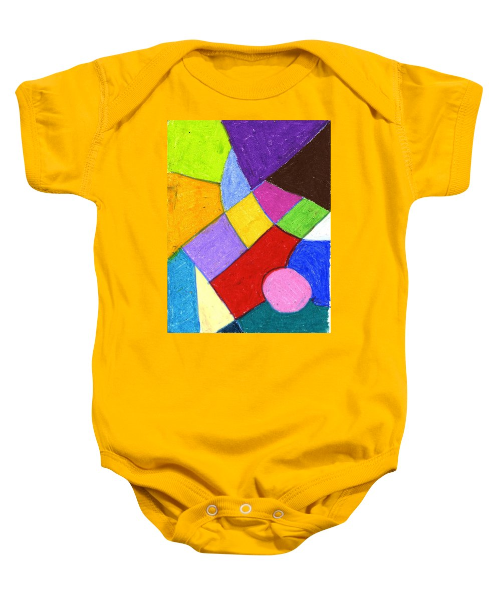 Mister Baby Onesie featuring the painting Mister by Taylor Webb
