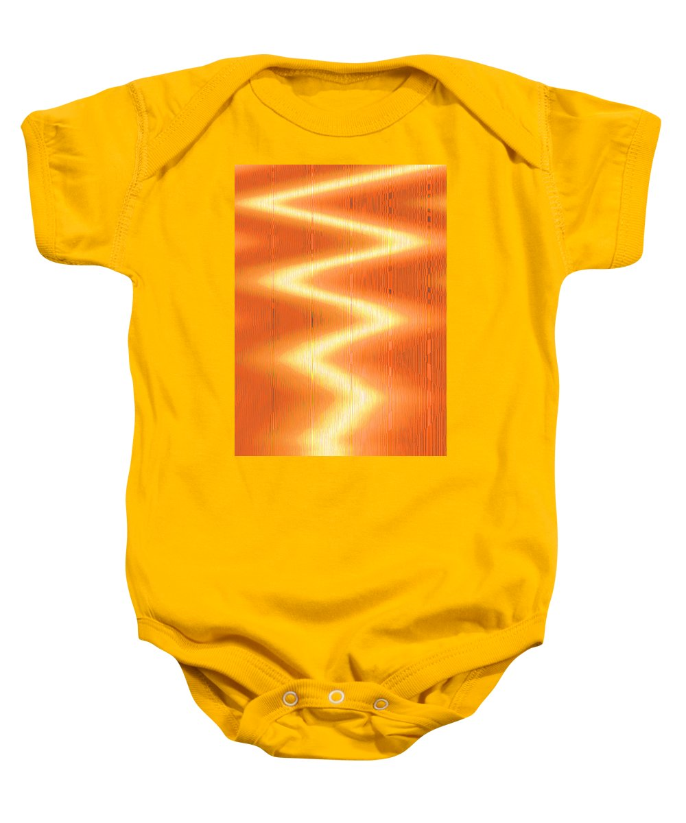 Moveonart! Global Gathering. Branch -- energizenow -- Digital Abstract Art By Artist Jacob Kane -- Omnetra Baby Onesie featuring the digital art Moveonart Energizenow by Jacob Kanduch