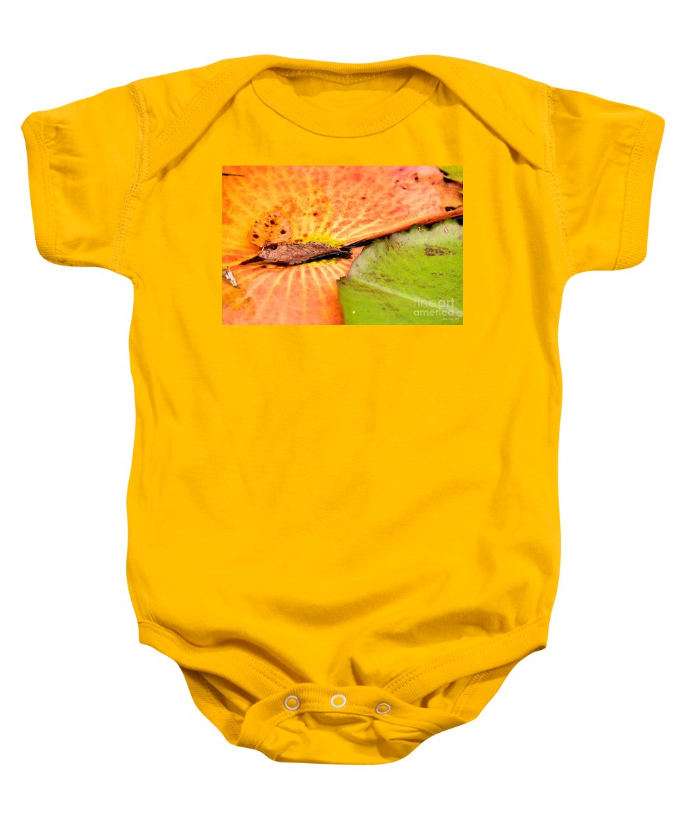 Natural Baby Onesie featuring the photograph Natural Abstract 40 by Maria Urso