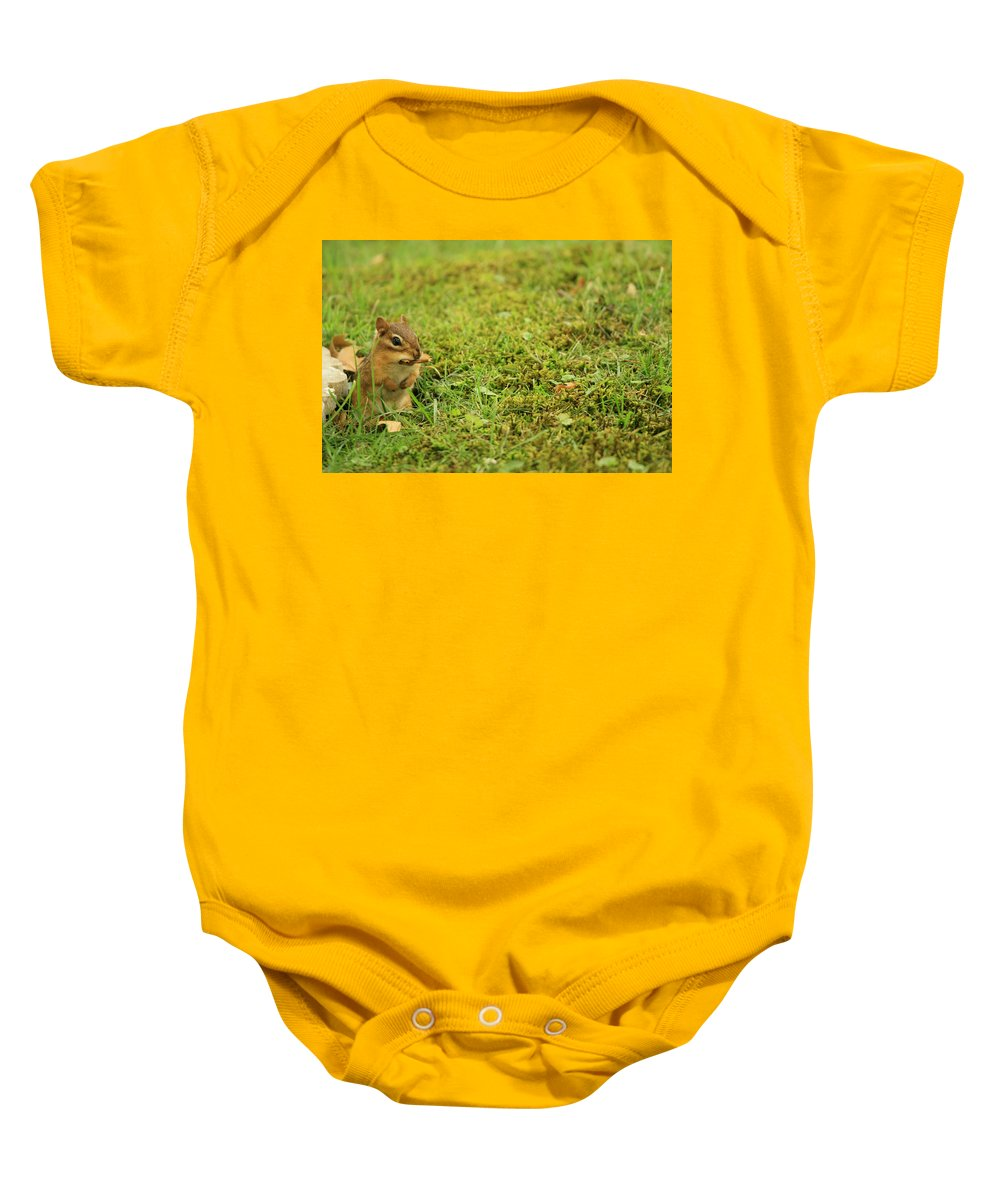 Wildlife Baby Onesie featuring the photograph Not Too Good by Dennis Pintoski