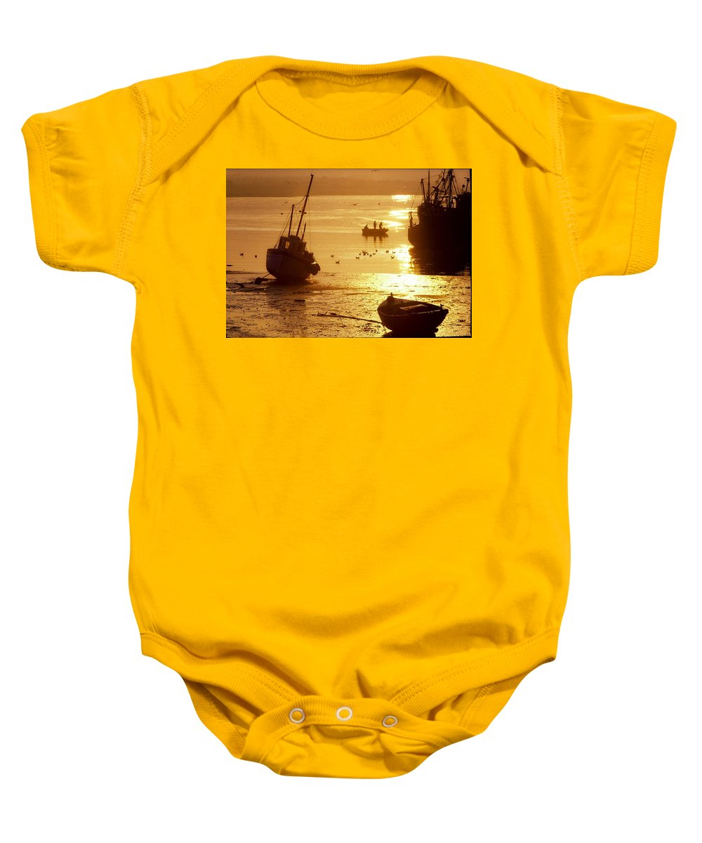 Bird Baby Onesie featuring the photograph Skerries, County Dublin, Ireland by The Irish Image Collection