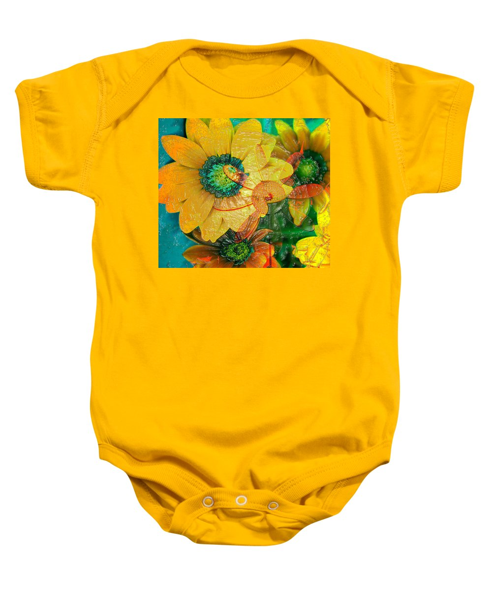 Jerry Cordeiro Baby Onesie featuring the photograph Summers Soup by The Artist Project
