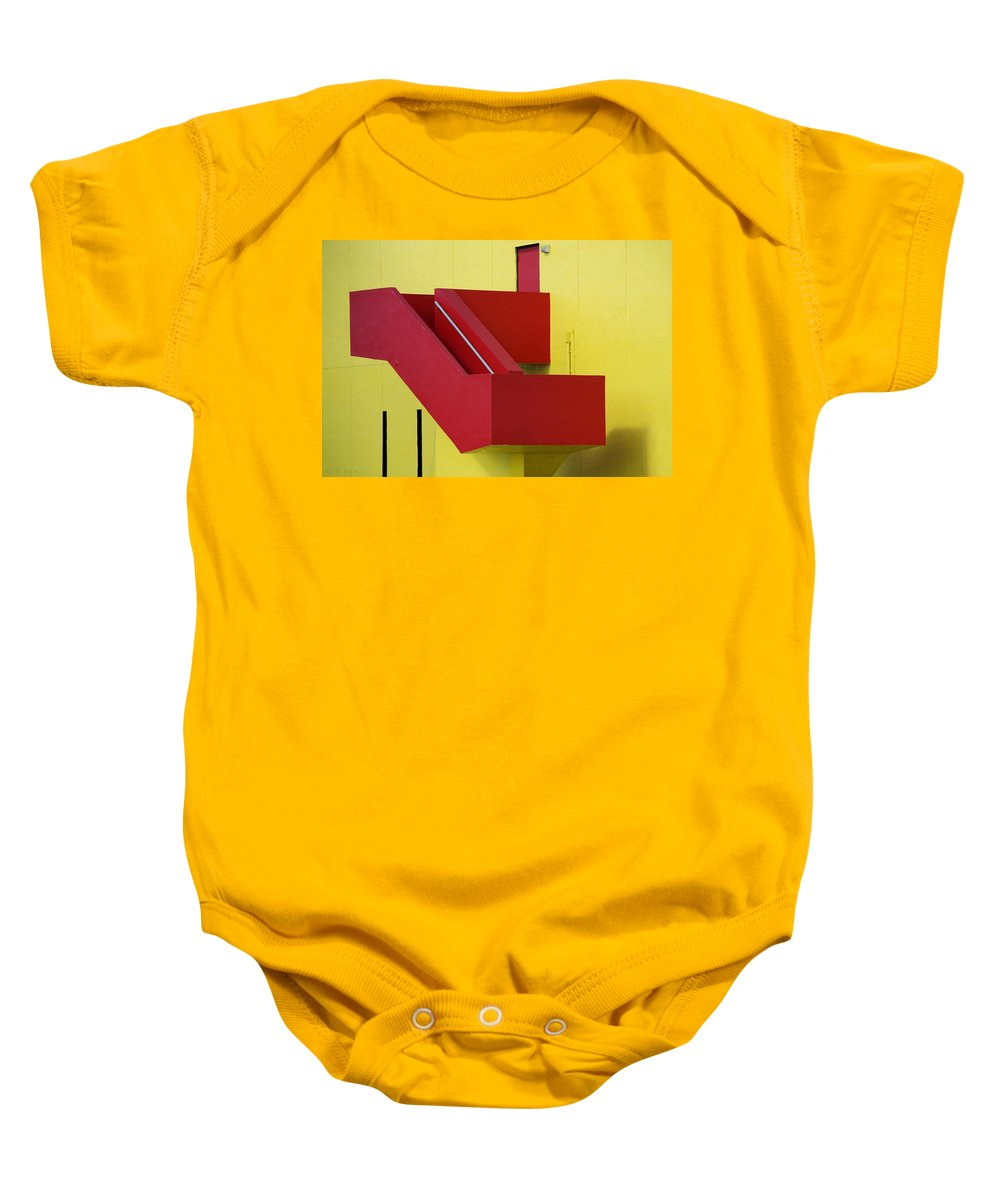 Art Baby Onesie featuring the photograph Truly Nolen Steps by Rob Hans