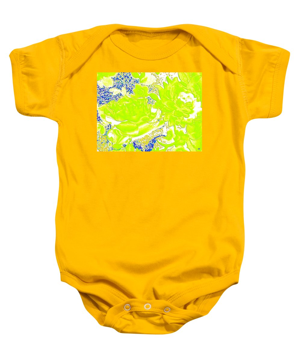 Abstract Baby Onesie featuring the digital art Harmony 31 by Will Borden