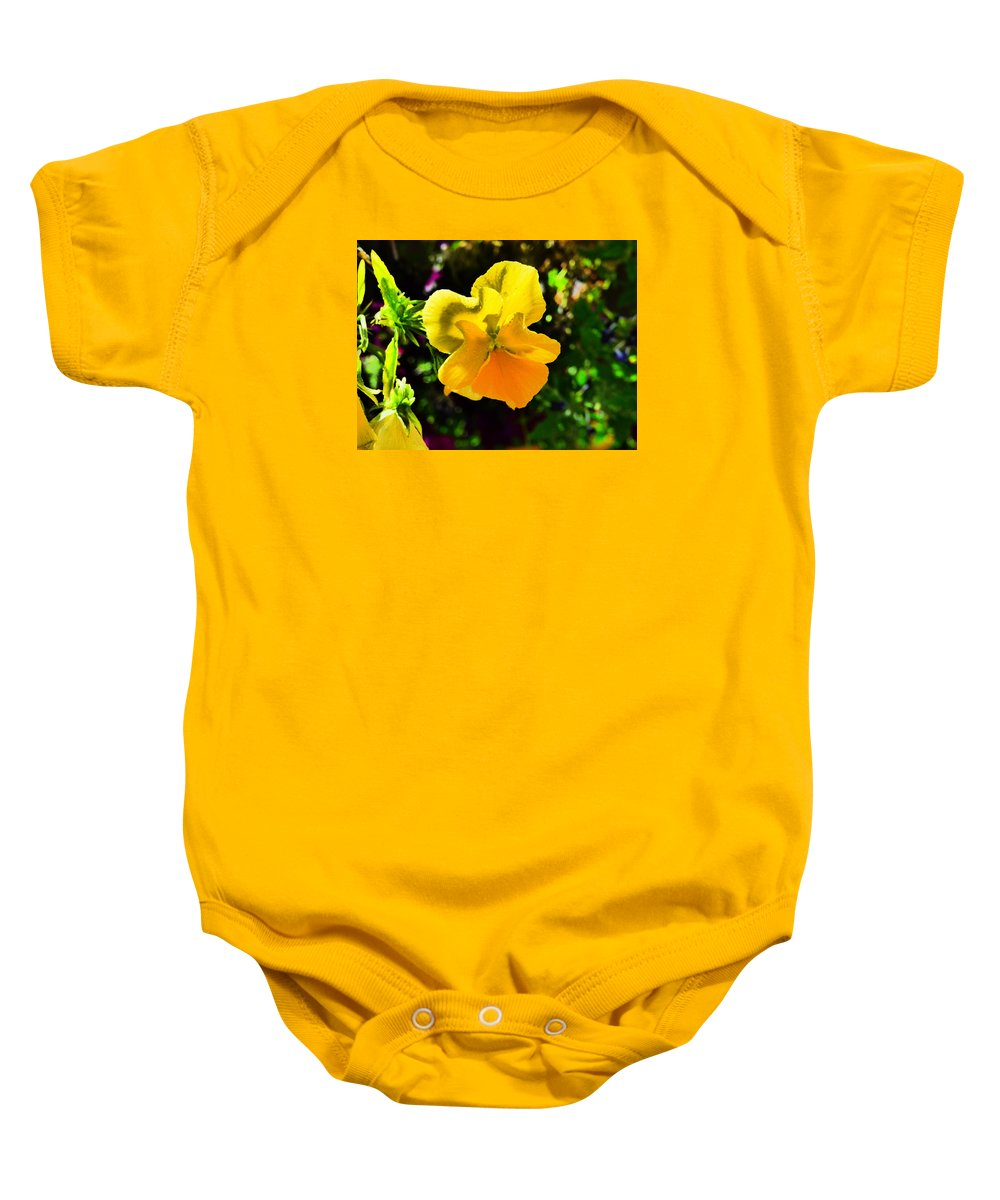 Paul Stanner Baby Onesie featuring the photograph Catch The Wind by Paul Stanner