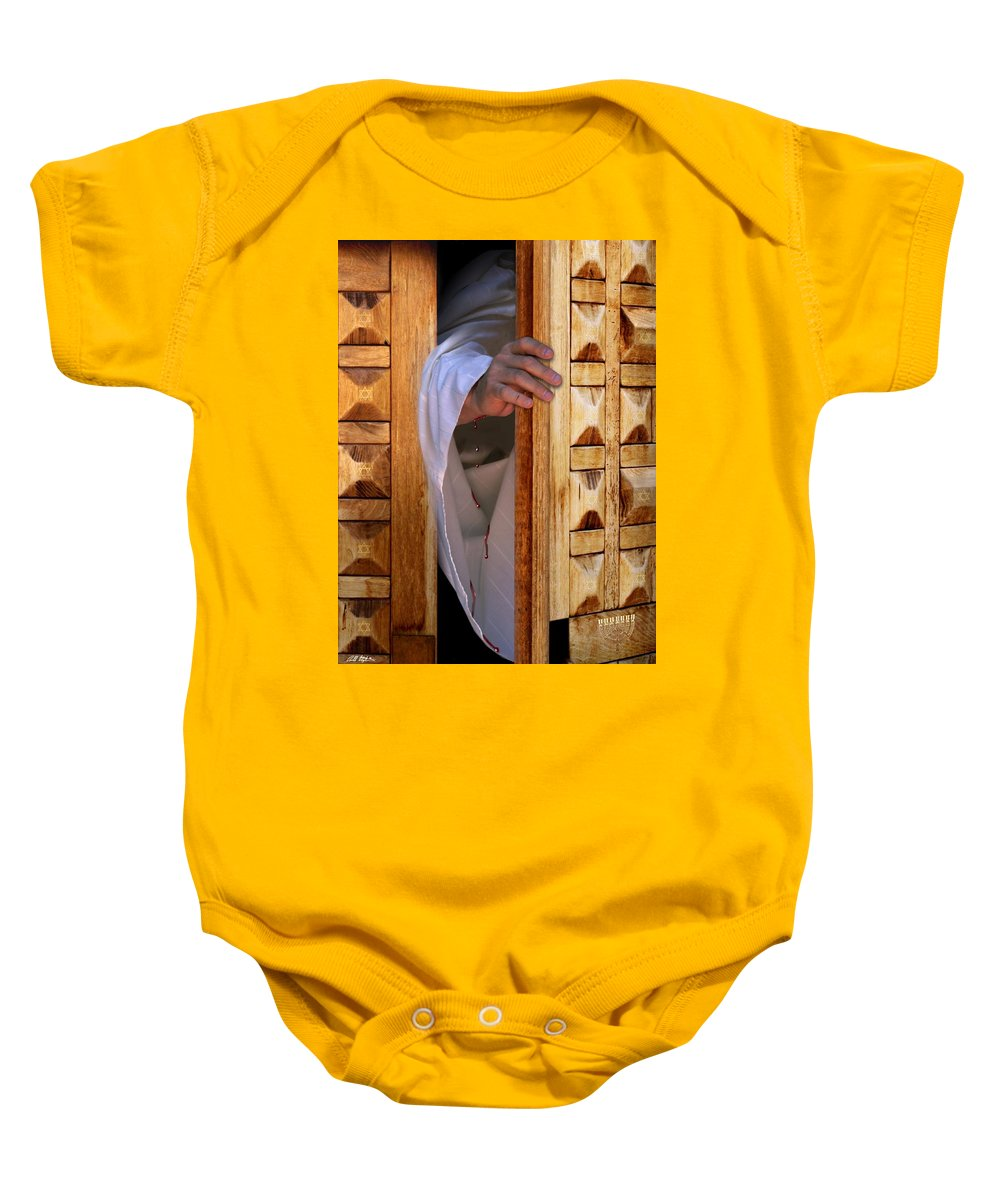 Spiritual Baby Onesie featuring the digital art Come by Bill Stephens