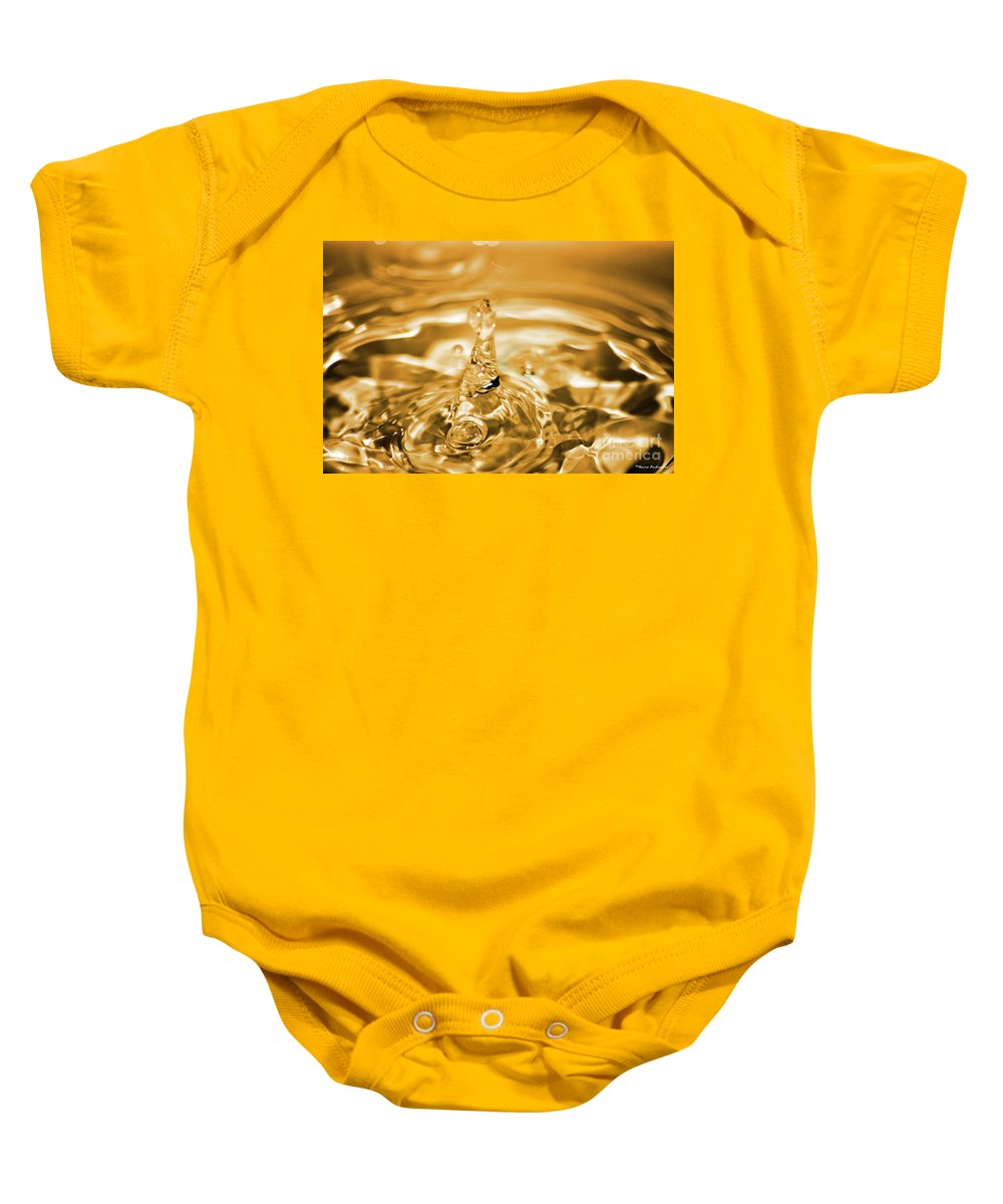 Water Baby Onesie featuring the photograph Splash by Ilaria Andreucci