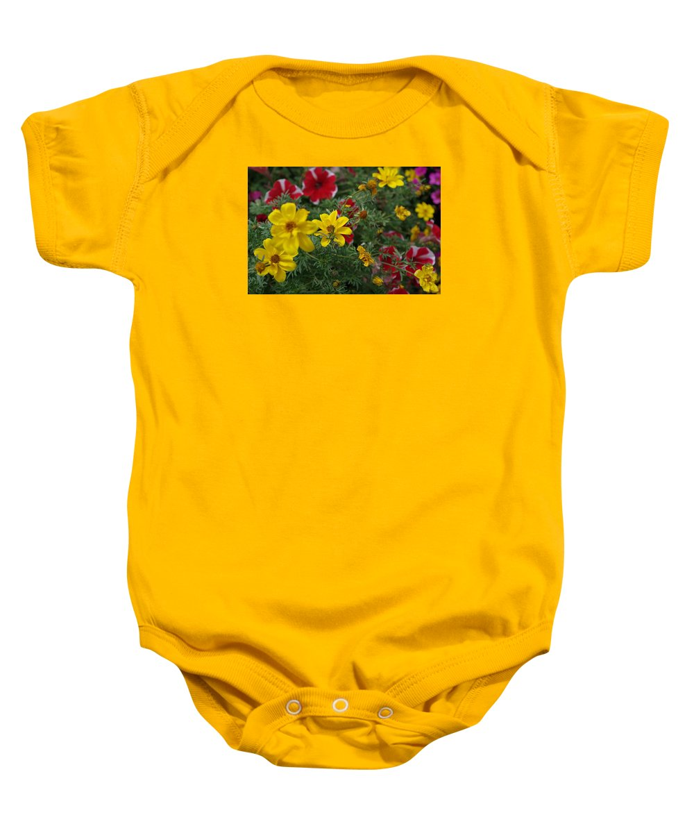 Paul Stanner Baby Onesie featuring the photograph Sounds Of Summer by Paul Stanner
