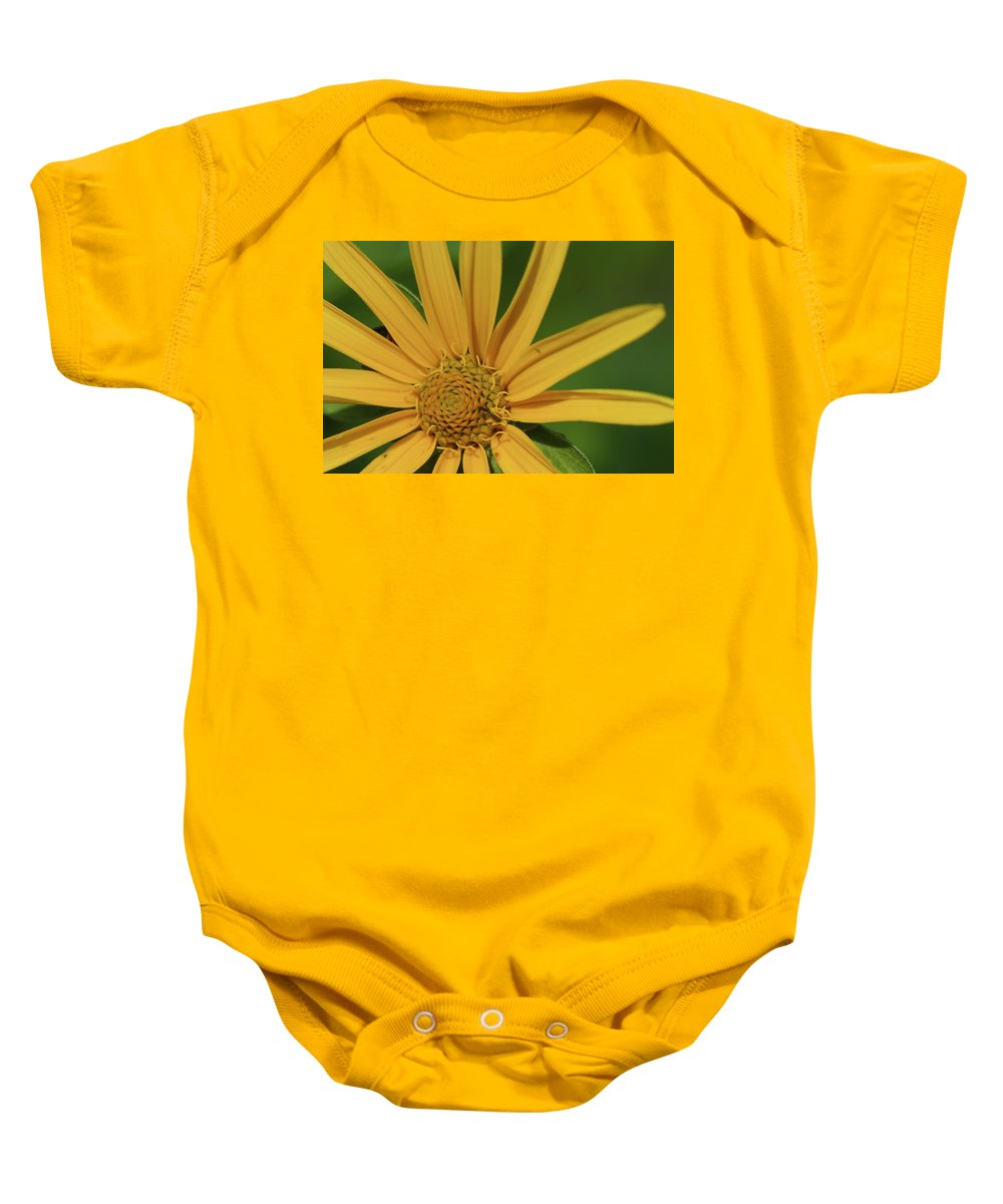 Beautiful Baby Onesie featuring the photograph Sunflower by Jack R Perry