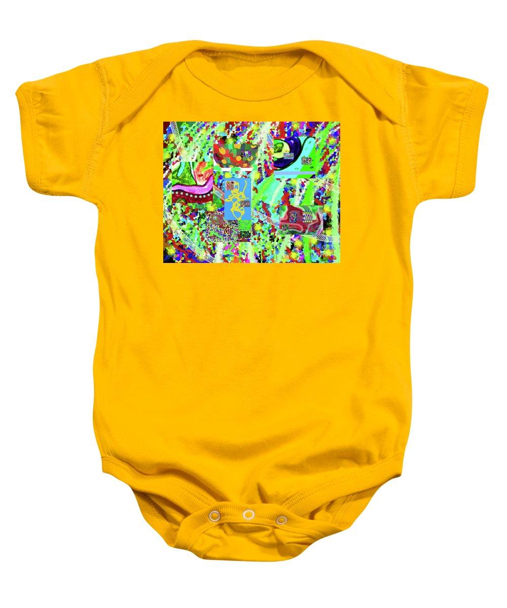 4-12-2015cabcdefghijklmnopq Baby Onesie featuring the digital art 4-12-2015cabcdefghijklmnopqrtu by Walter Paul Bebirian