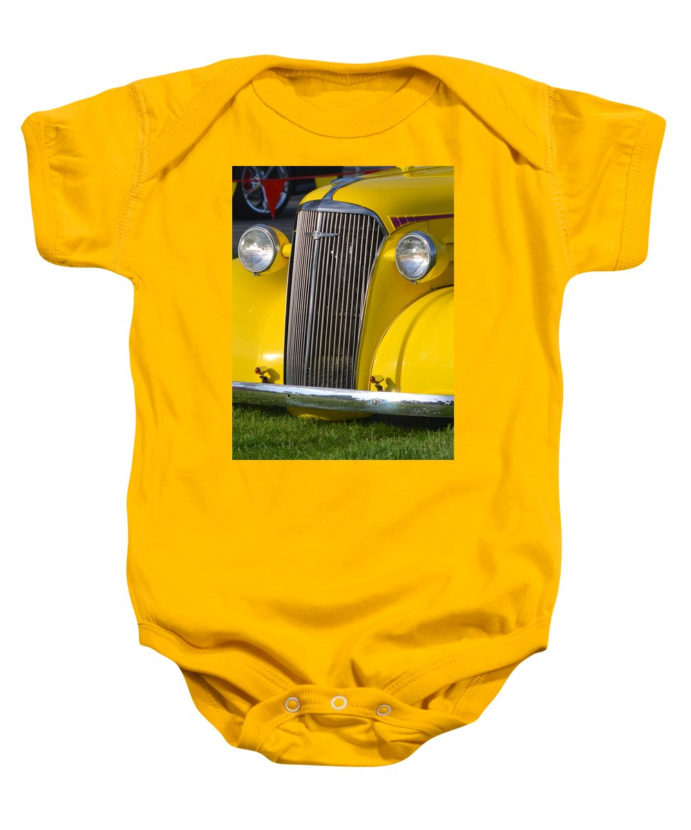 Baby Onesie featuring the photograph Chevy Pickup by Dean Ferreira