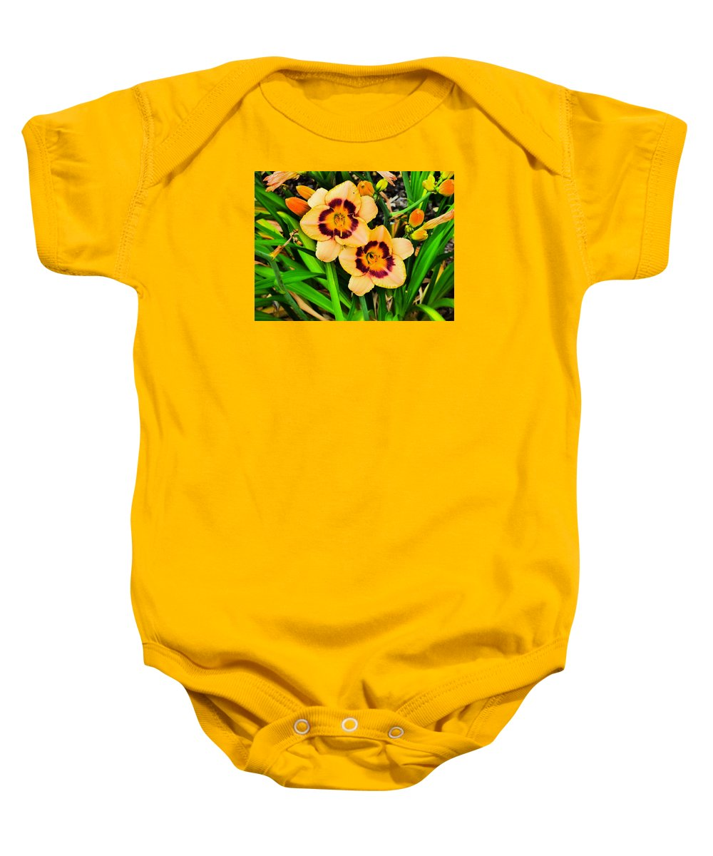 Paul Stanner Baby Onesie featuring the photograph Bliss by Paul Stanner