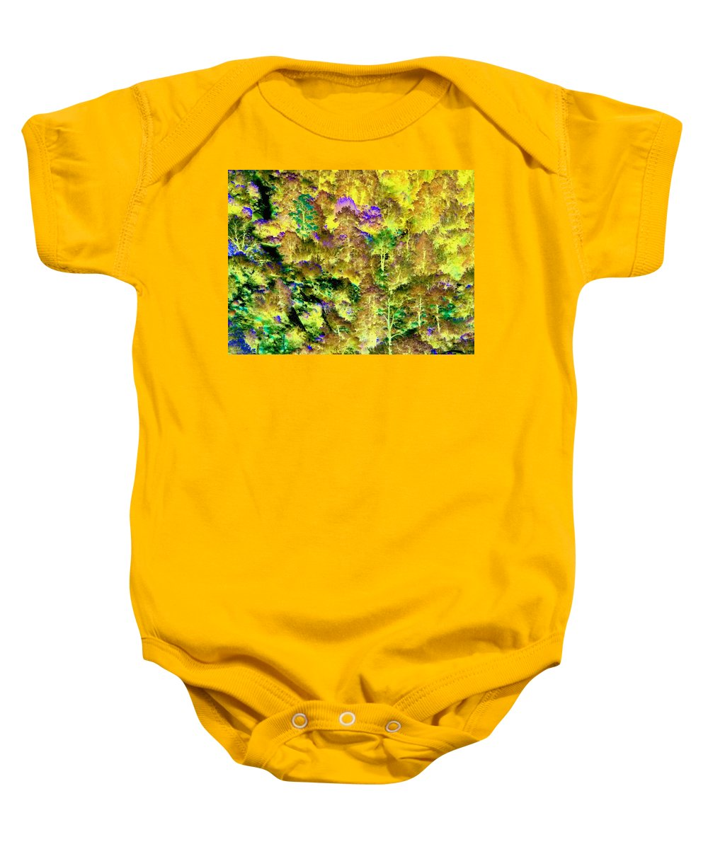 A Surreal Environment Baby Onesie featuring the photograph A Surreal Environment by Glenn McCarthy