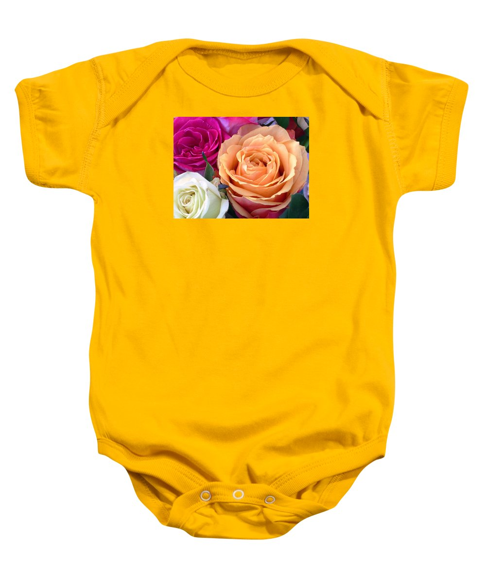 Rose Baby Onesie featuring the photograph Ahhhh by Torie Beck