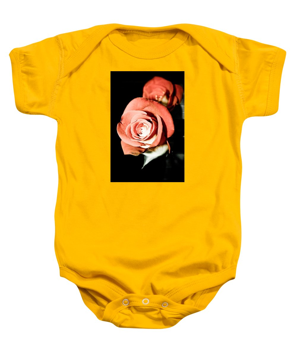 Baby Onesie featuring the photograph Aurora by Tanya Garner