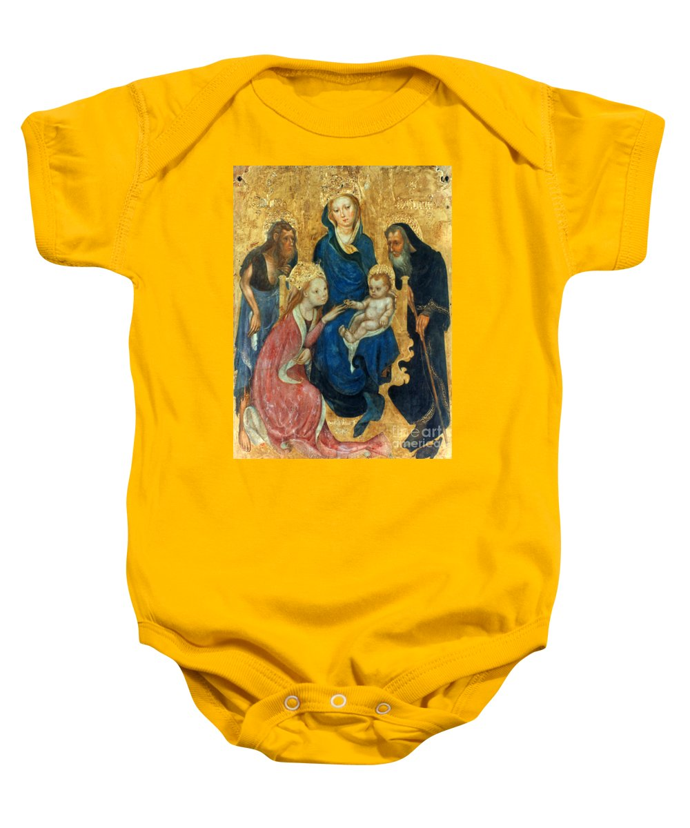 1404 Baby Onesie featuring the photograph Besozzo: St. Catherine by Granger