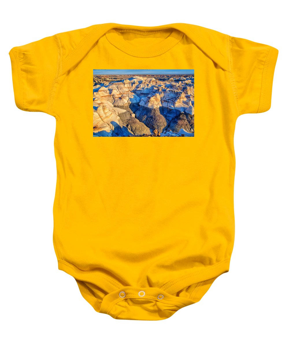 Bisti Badlands Baby Onesie featuring the photograph Bisti Badlands 10 by Ingrid Smith-Johnsen