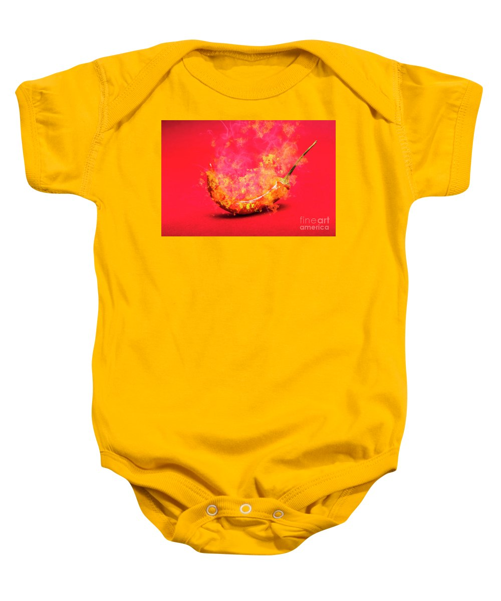 Yellow Bell Pepper Baby Onesies | Pixels