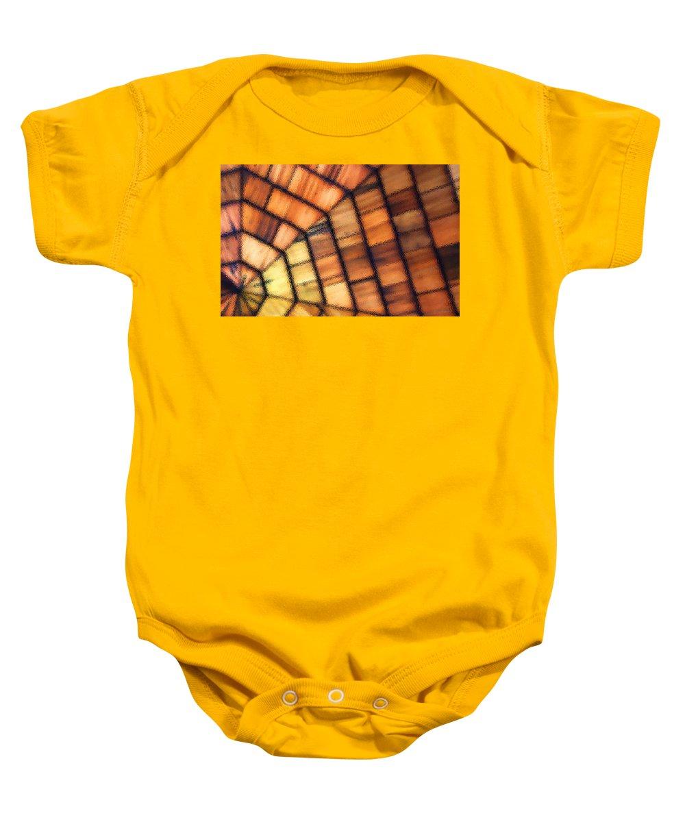 Cedar Baby Onesie featuring the photograph Cedar Glass by Carolyn Stagger Cokley
