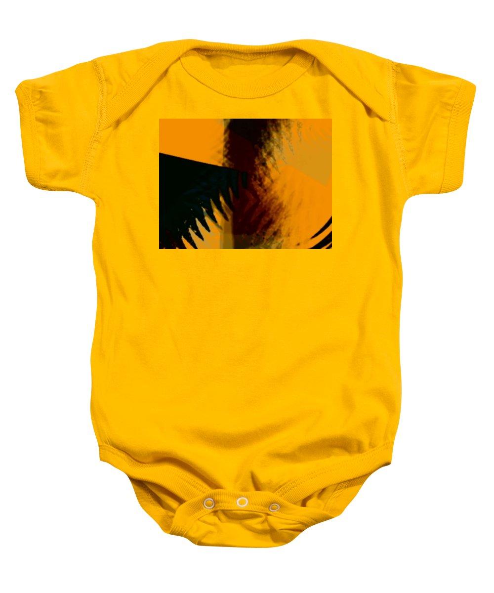 Art Digital Art Baby Onesie featuring the digital art Change - Leaf6 by Alex Porter